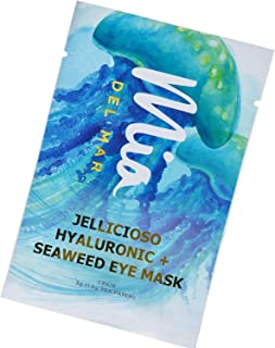 'Jellycioso' Under Eye Patches For Puffy Eyes - Seaweed Extract and Hyaluronic Acid Brightens Your Under-Eye Area While Improving Skin Elasticity. (1 Pair)