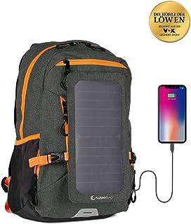 SunnyBAG Mochila Solar Explorer+ | con Panel Solar de 6W