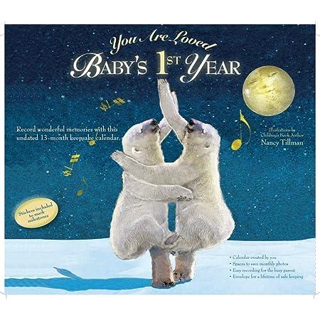 Calendar Ink, You are Loved Babys First Year Tillman Art Wall Calendar