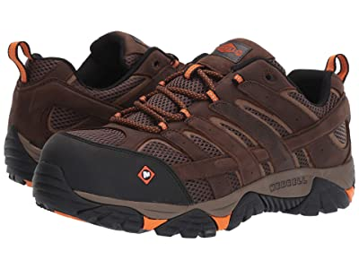 Merrell Work Moab Vertex Vent Composite Toe (Clay) Men