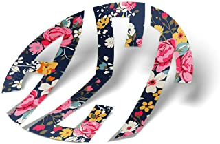 fd70fe3f4e29 Alpha Sigma Tau Monogram in Floral Sticker 3 Inch Sorority Decal Greek for  Window Laptop Computer