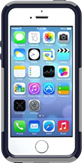 OtterBox COMMUTER SERIES Case for iPhone 5/5s/SE - Retail Packaging - MARINE (GUNMETAL GREY/ADMIRAL BLUE)