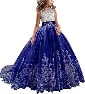 Royal Blue Dress For Baby Girl