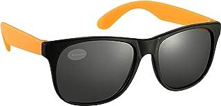 Black and Orange Drifter Style Sunglasses UV400 Protection Unisex