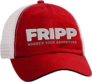 Fripp Outdoors Adventure Logo Structured Mesh Hat