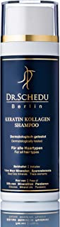 Dr.Schedu Berlin Keratin Collagen Dead Sea salts Shampoo 200 ml 100% silicone free, 100% paraben free, 100% paraffin free & 100% cruelty free - Made in Germany!