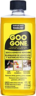 Weiman Goo Gone Original - 4 Ounce - Goo and Adhesive Remover for Stickers, Tape, and Sticky Messes