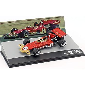 F1 ロータス ミニカー 1/43 LOTUS 72D FORD エマーソン フィッティパルディ 1971 ドイツグランプリ EMERSON FITTIPALDI [並行輸入品]