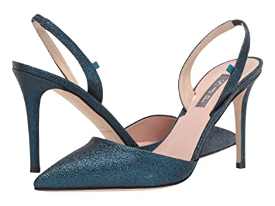 SJP by Sarah Jessica Parker Bliss 90 (Blue Fine Glitter) Women