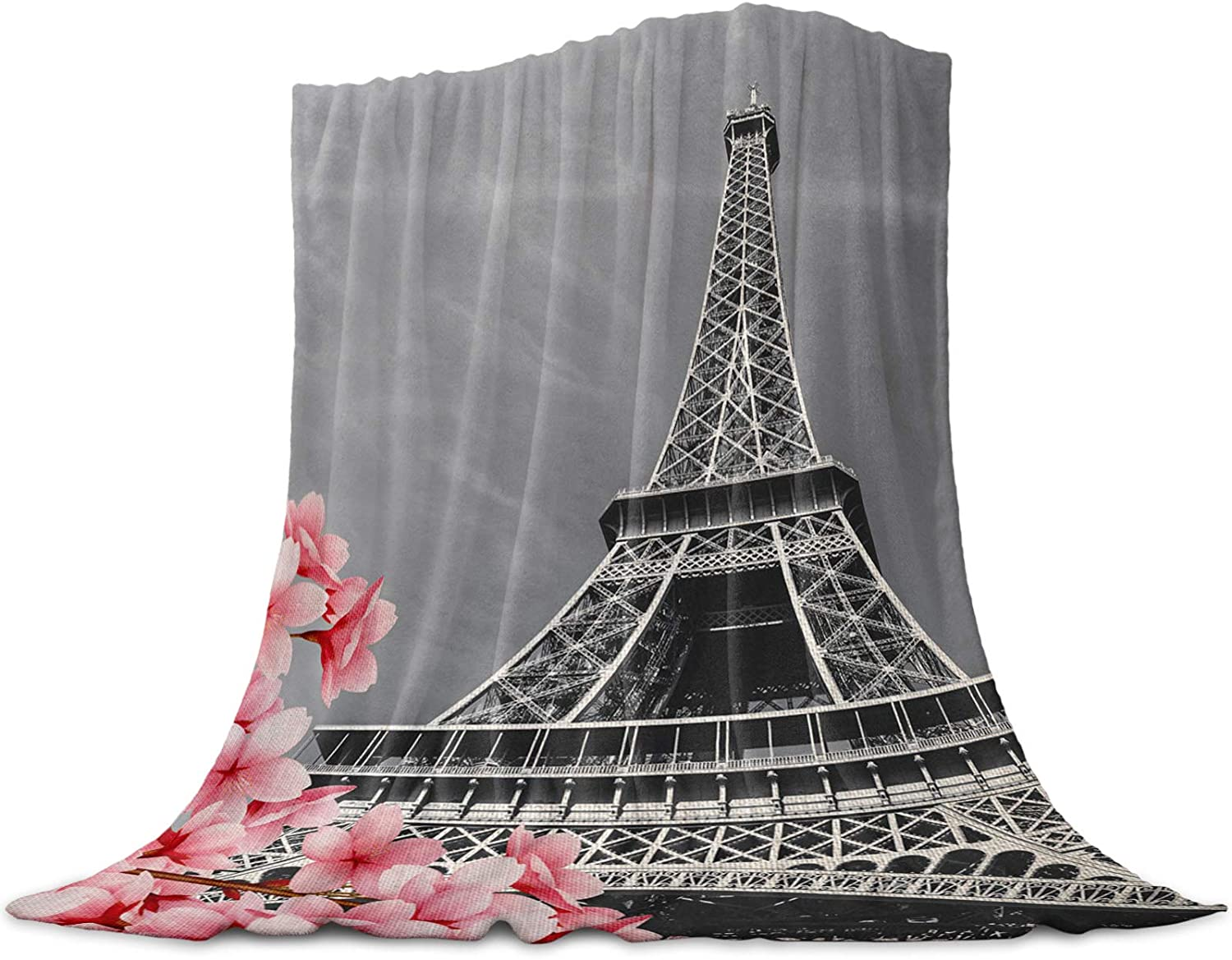 LEO BON Soft Warmer Throw Blankets Black for Clearance SALE Limited time Max 51% OFF Whit All Season and