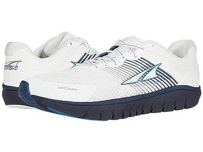 Altra Footwear Provision 4 (White/Navy) Men