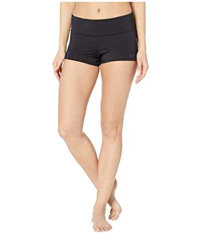 Nike Solid Kick Shorts (Black) Women