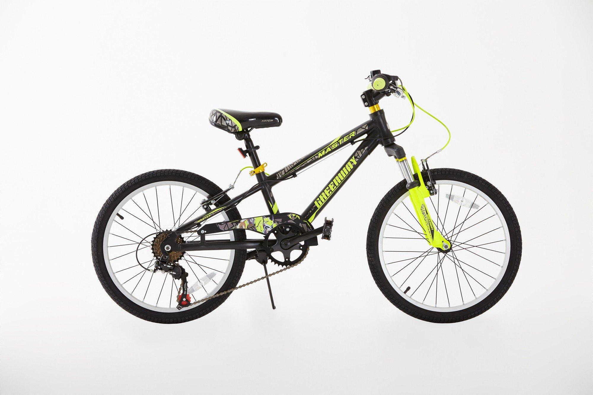 Bicicleta Infantil de AleaciÓN Aluminio con Cambios Shimano Para NiÑOs de 5 a 12 AÑOs, Rueda de 20 Pulgadas: Amazon.es: Deportes y aire libre