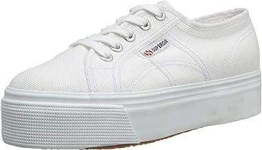 Superga 2790 Linea Up Down, Unisex Adults' Low-Top Sneakers, White (901 White), 8 UK (42 EU)