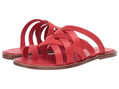 Vince Piers (Adobe Red Leather/Sport Suede) Women