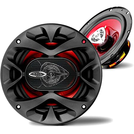 BOSS Audio Systems CH6520 Car Speakers - 250 Watts of Power Per Pair, 125 Watts Each, 6.5 Inch, Full Range, 2 Way, Sold in Pairs, Black