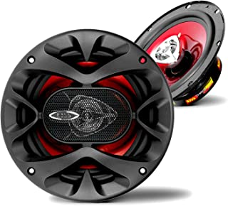 BOSS Audio Systems CH6520 Car Speakers - 250 Watts of Power Per Pair, 125 Watts Each, 6.5 Inch, Full Range, 2 Way, Sold in...