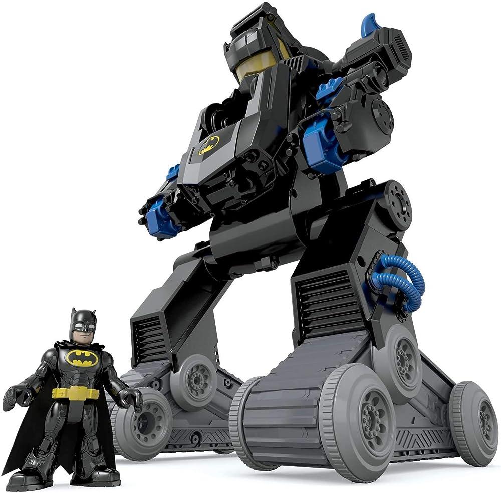Mattel,imaginext batman bat bot personaggio articolato DMT82