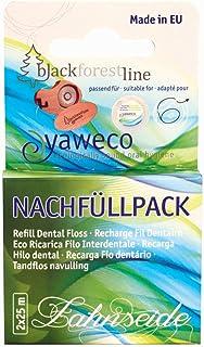 Yaweco - Nachfüllpackung Zahnseide 1 Pack mit 2x25m