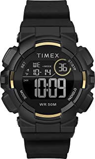 Timex Unisex-Adult Quartz Watch, Digital Display And Silicone Strap - TW5M23600