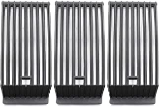 Hongso Cast Iron Cooking Grates Grill Grids Replacement Parts for Select Broilmaster G-4 TSXPL, G-4 TSXPN, G-4 TXPL, G-4 TXPN Gas Grill Models, 15 1/4 Inch BBQ Gas Grill Grate, Set of 3 (PCB203)