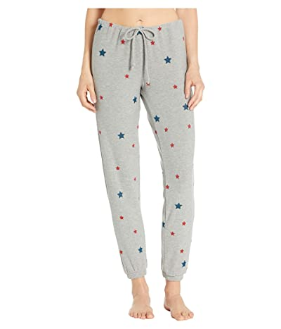 Chaser Stars Cozy Knit Lounge Pants (Heather Grey) Women