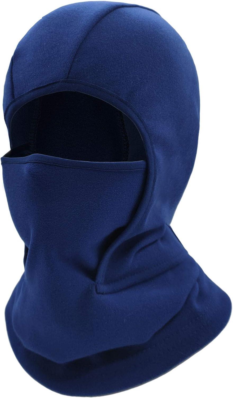 Kids Balaclava Ski Mask Windproof Fleece Neck Warmer Gaiter Winter Face Warmer for Cold Weather Boys Girls