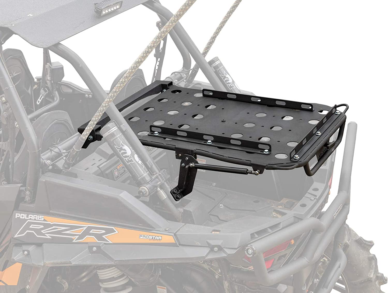 """SuperATV Cargo Rack for 2014+ Polaris RZR XP 1000/2016+ RZR XP Turbo 