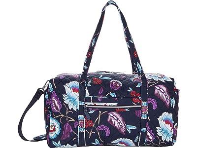 Vera Bradley Performance Twill Large Travel Duffel (Mayfair in Bloom) Duffel Bags