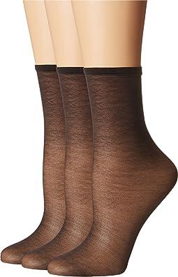 Sheer Anklet 3-Pack