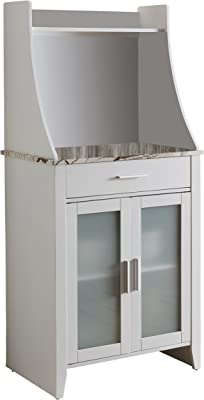 Amazon.com: Baxton Studio Lowell - Mueble de cocina, acabado ...