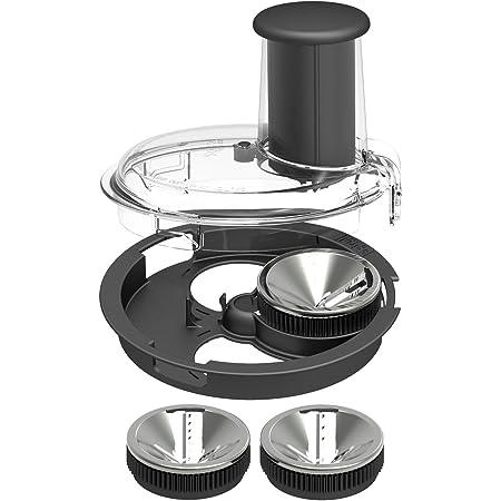 Magimix 17501 - Mixeur et accessoire pour mélanger des aliments, accessoire pour robot de cuisine (194 mm, 204 mm, 255 mm, 1,4 kg, 3 pièces, 1,75 kg)