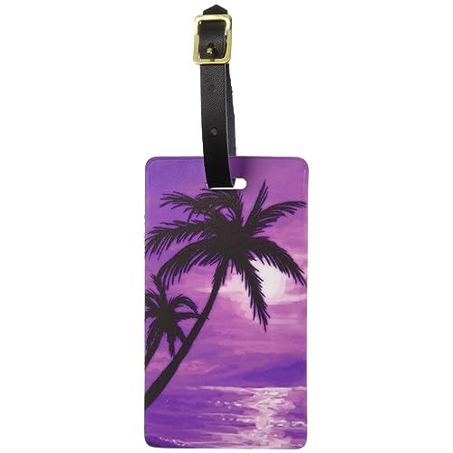 077bd8253541 Palm Tree Luggage Tag: Amazon.com