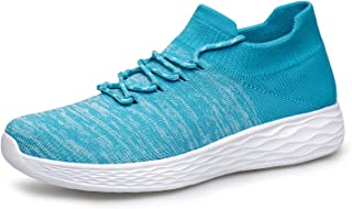 Womens Walking Shoes Slip on Sneakers - Lightweight Casual Comfortable Fashion Sock Sneakers