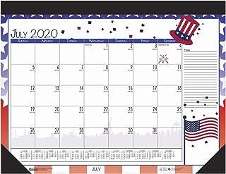 House of Doolittle 2020-2021 Monthly Seasonal Desk Pad Calendar, Academic, 22 x 17 Inches, July - June (HOD1395-21)