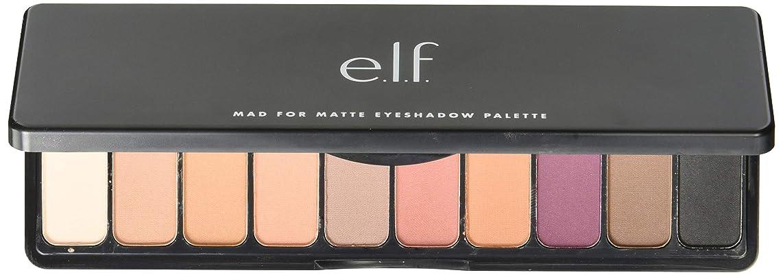 舗装する安らぎ砦e.l.f. Mad For Matte Eyeshadow Palette - Summer Breeze (並行輸入品)