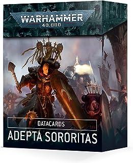 Games Workshop - Warhammer 40 000 - DATACARDS: Adepta Sororitas (edycja 2021)
