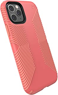 Speck Products 129892-8538 Presidio Grip iPhone 11 Pro Case, Parrot Pink/Papaya Pink