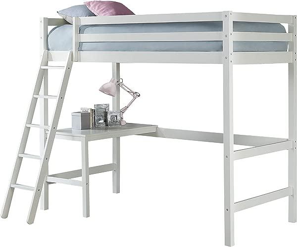 Hillsdale Furniture 2179 320 Hillsdale Caspian Twin Loft Bed White