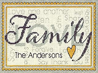 personalised wedding cross stitch