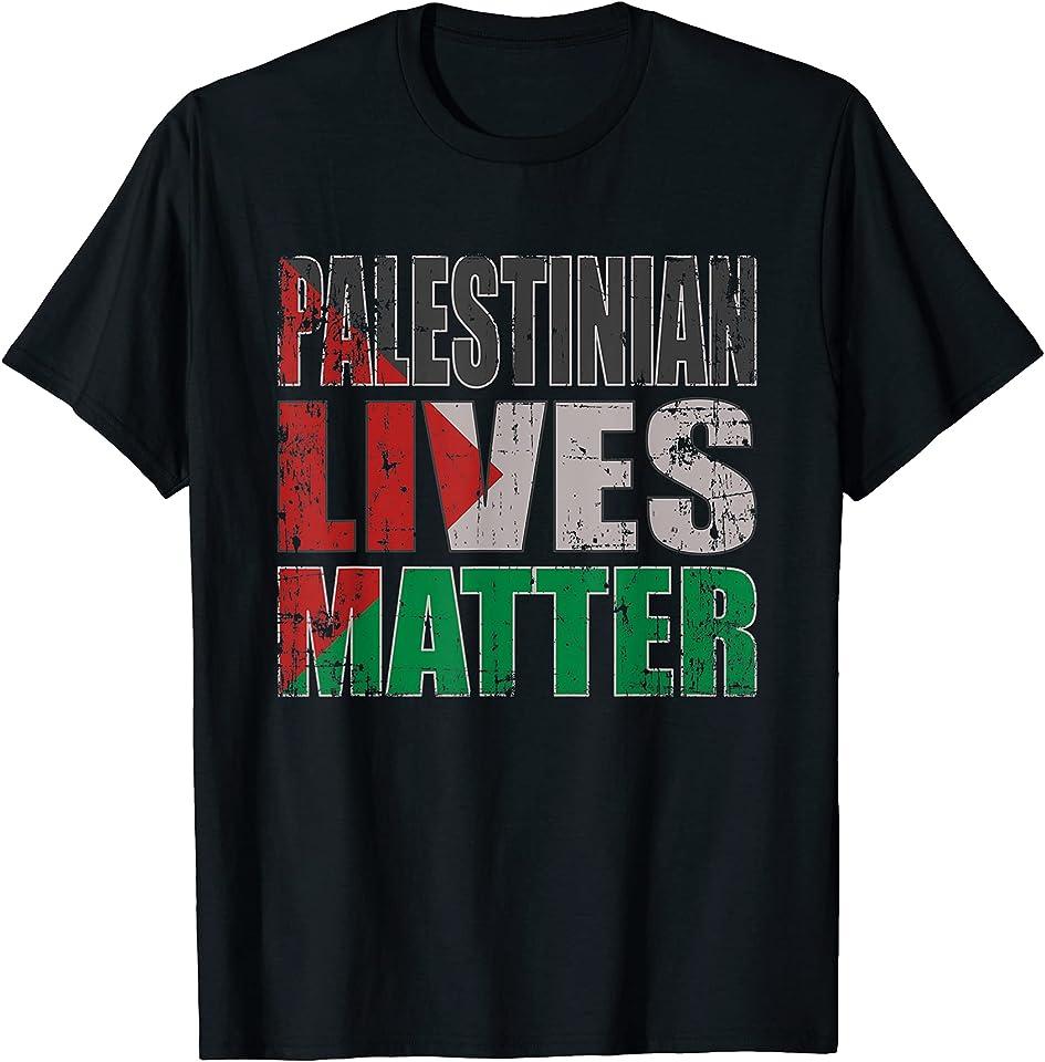 Free Palestine Shirt, Palestinian Lives Matter T-Shirt