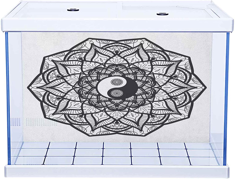 Aquarium Background Sticker 3D Printed PVC Self-Adhesive Max 58% OFF an Yin Fashionable