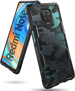 Ringke Cover for Xiaomi Redmi 9 Pro Max / 9 Pro / 9S Case Hard Fusion-X Ergonomic Transparent Shock Absorption TPU Bumper...