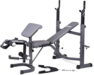 Amazon Com Weider Weight Bench Sports Amp Outdoors