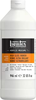 Liquitex High Gloss Varnish, 32-Ounce