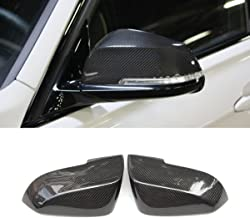 Replacement Carbon Fiber Mirror Cover For 3 Series F30 F34 F31 1 Series F20 2 Series F22 4 Series F32 F33 F36 F87 M2 X1 Series E84 (LCI)