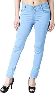 DRRAGON Women's Slim Fit Jeans