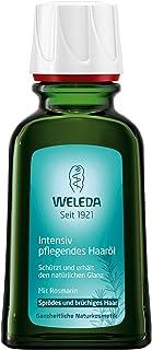 WELEDA Intensiv Pflegendes Haaröl, pflanzliche Naturkosmetik Haarkur mit Rosmarin für sprödes und brüchiges Haar, Schutz und Pflege für einen natürlichen Glanz 1 x 50 ml