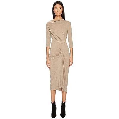 Vivienne Westwood Taxa Jersey Dress (Beige) Women