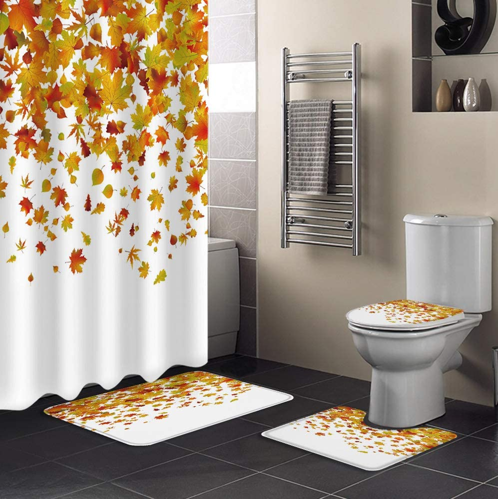 4 Piece Shower Discount is also underway Curtain Sets Super special price 36